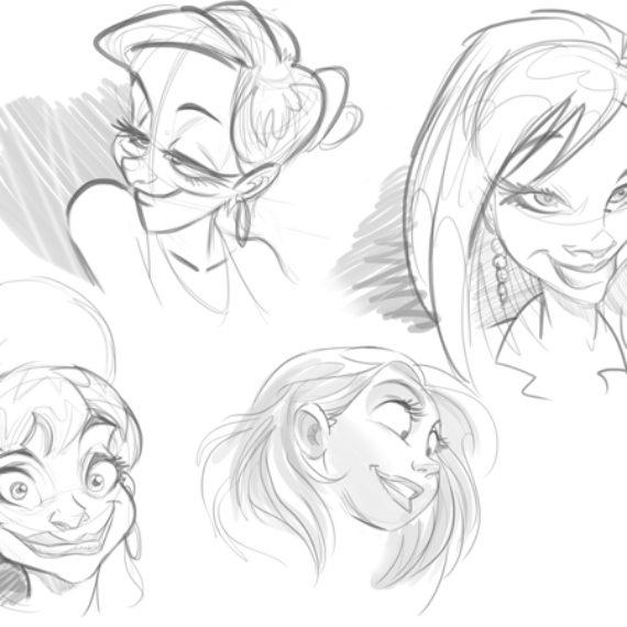 Fundamentos de los Dibujos Animados – Cartooning Basics